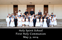 HOLY SPIRIT Communion Phots 2014